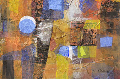 Blended Fragments Print by Melody Cleary
