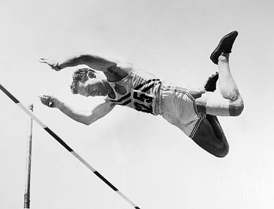 Olympian Photograph - Bob Richards (1926- ) by Granger