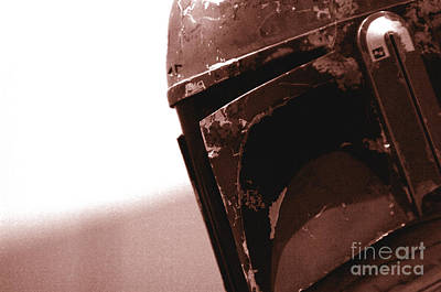 Science Fiction Photograph - Boba Fett Helmet 32 by Micah May
