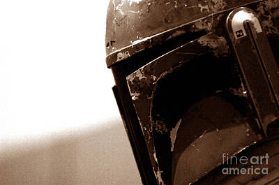 Star Wars Photograph - Boba Fett Helmet 33 by Micah May