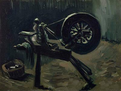 Bobbin Winder Print by Vincent van Gogh