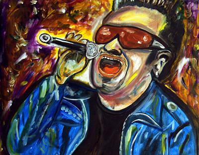 Bono  Print by Azalea Millet