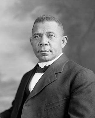 Booker T. Washington Print by War Is Hell Store