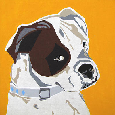 Pet Portrait Digital Art - Boxer  by Slade Roberts