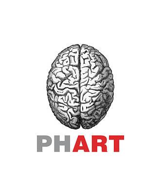 Brain Phart Print by Craig McCausland