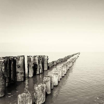 Zeeland Photograph - Breakwaters by Wim Lanclus
