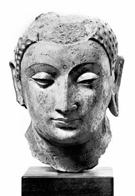 7th Century Photograph - Buddha, 4th-7th Century by Granger