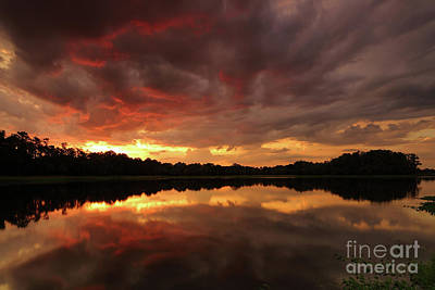 Photograph - Burning Clouds by Rick Mann