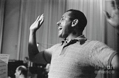 Cab Calloway Print by The Harrington Collection