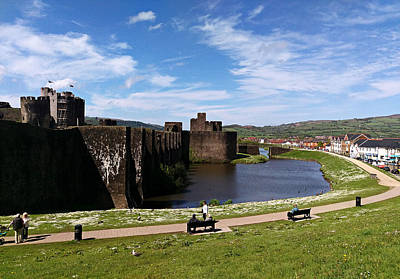 Caerphilly Castle Original by Andrew Read