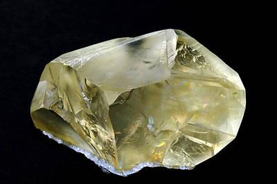 Calcite - Kazakhstan Print by Bill Morgenstern