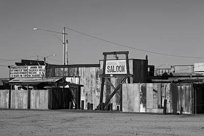 California Saloon Print by Mountain Dreams