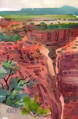 Canyon De Chelly Print by Donald Maier