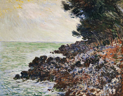 Claude Painting - Cap Martin by Claude Monet