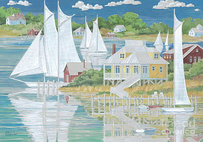 Captain's Home Print by Paul Brent