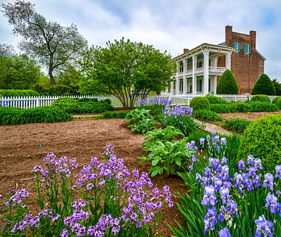 Carnton Plantation Photograph - Carnton Plantation by Richard Marquardt