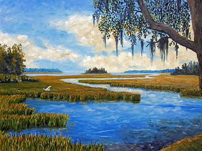 Carolina Colors Print by Stanton D Allaben