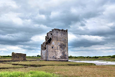 Carrigafoyle Castle - Ireland Print by Joana Kruse