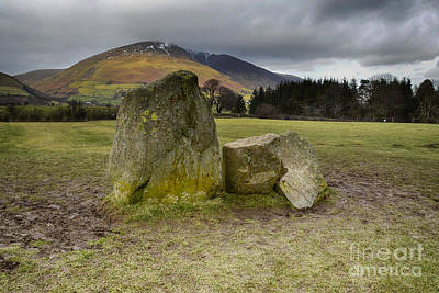 Castlerigg Stone Circle Print by Stephen Smith