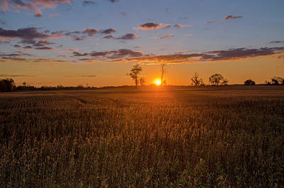 Photograph - Central Pennsylvania Sunrise by Bill Cannon