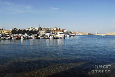 Greek Photograph - Chania by Stephen Smith