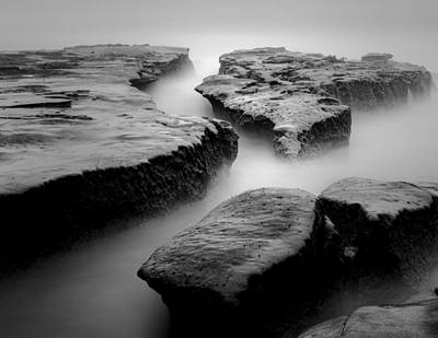 Lajolla Photograph - Channels by Joseph Smith