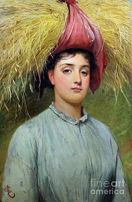 Gleaners Painting - Charles Sillem Lidderdale by MotionAge Designs