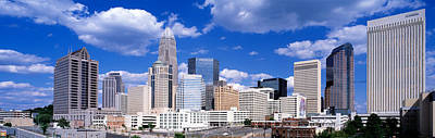 Charlotte Nc Photograph - Charlotte, North Carolina, Usa by Panoramic Images