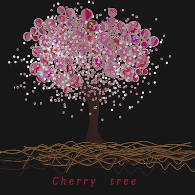 Nature Digital Art - Cherry Tree by Alberto RuiZ