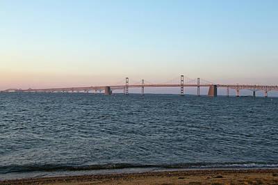 Chesapeake Bay Bridge - Maryland Print by Brendan Reals