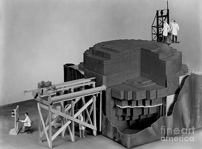 Chicago Pile-1, Scale Model Print by Science Source