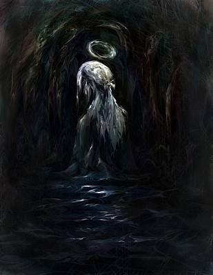 Born Again Digital Art - Child Of God by Rachel Christine Nowicki