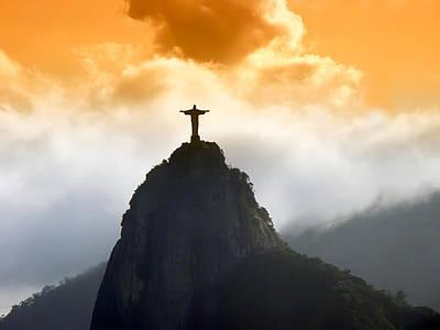Christ The Redeemer Photograph - Christ Redeemer by Antonello