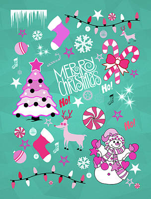 Christmas Print by Mark Ashkenazi