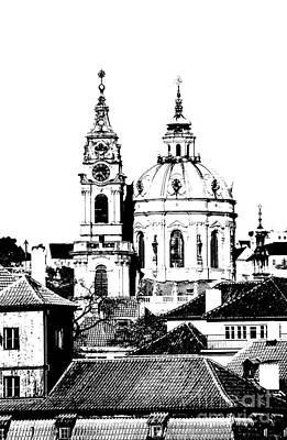 Church Of St Nikolas Print by Michal Boubin