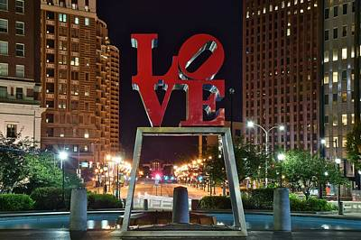 City Of Brotherly Love Print by Frozen in Time Fine Art Photography