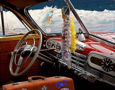 Woodie Digital Art - Classic Beauty by Ron Regalado