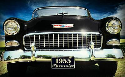 Classic Chevy Bel Air Print by Prairie Pics Photography