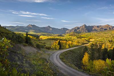 Mountain Photograph - Colorado Curves by Jon Glaser