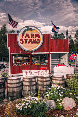 Farm Stand Photograph - Colorado Farm Stand by Mountain Dreams
