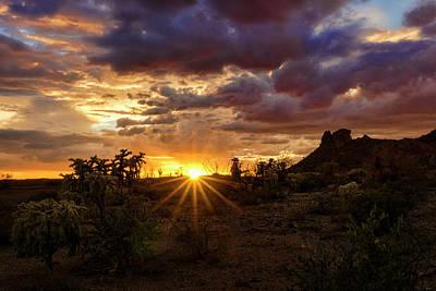 Rainy Day Photograph - Colorful Sonoran Skies  by Saija Lehtonen
