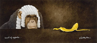 Bananas Painting - Court Of Appeals... by Will Bullas