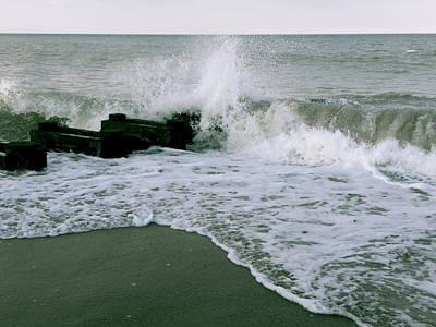 Crashing Waves Print by Bradley Smith