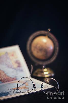 Maps Photograph - Create Your Destiny by Evelina Kremsdorf