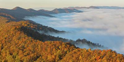 Pinnacle Overlook Photograph - Cumberland Gap by Christian Heeb