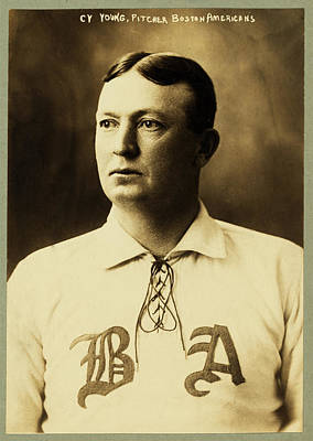 Cy Young Photograph - Cy Young by Mountain Dreams