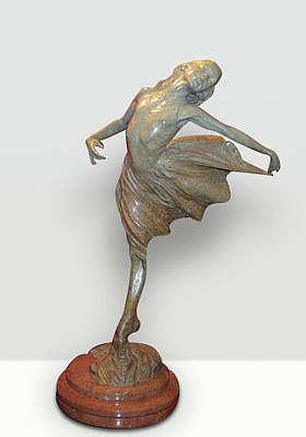 Richard Macdonald Sculpture - Dance The Dream by Richard MacDonald
