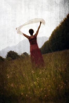 Shawl Photograph - Dancing by Joana Kruse