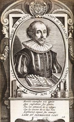 Macrocosm Photograph - David De Planis Campy, French Alchemist by Middle Temple Library