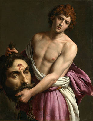 Goliath Painting - David With The Head Of Goliath by Alessandro Turchi